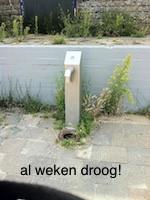 drinkwaterpomp in kwestie
