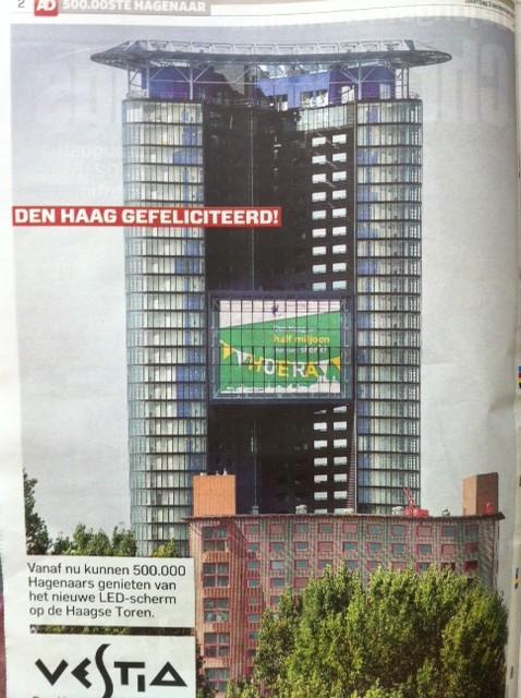 De nieuwe Haagse Toren?