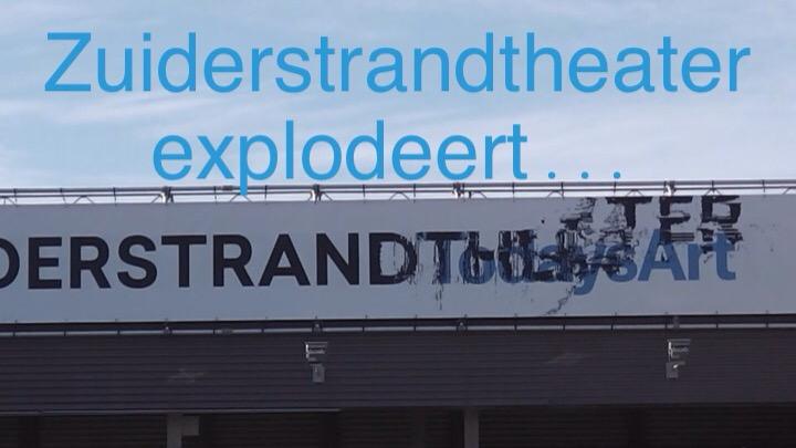 Zuiderstrandtheater compleet overgenomen door TodaysArt 2014
